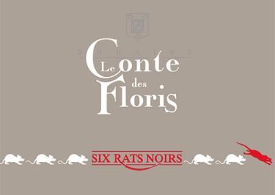 Six rats noirs 2015 Languedoc Pezenas Rouge